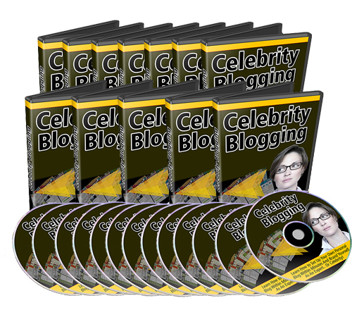 Product picture How to Become a Celebrity Blogger: Step by Step Video Course