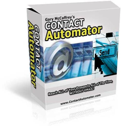 Product picture Contact Automator:  Follow Your Prospects Until They Buy